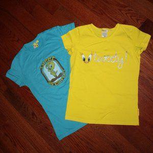 2 Tweety T shirts